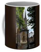 The Steeple And The Gate Coffee Mug