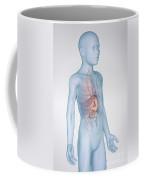 The Stomach Child Coffee Mug