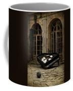 The Stone Sphere And Broken Grand Piano Coffee Mug
