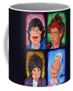 The Rolling Stones Coffee Mug by Dan Haraga