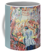 The Street Enters The House Coffee Mug by Umberto Boccioni