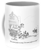 The Summer People Are Coming!  The Summer People Coffee Mug