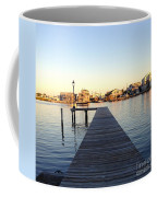 The Sun Begins To Set On Long Beach Island Coffee Mug
