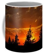 The Sun Retreats Coffee Mug