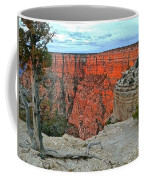 The Sun Shines On The Canyon Coffee Mug