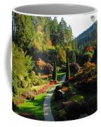The Sunken Garden Coffee Mug