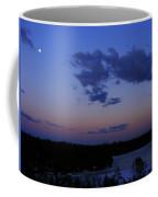 The Sunset Moon In Winter Coffee Mug