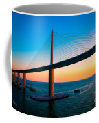 The Sunshine Under The Sunshine Skyway Bridge Coffee Mug