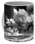 The Superstitions - Black And White  Coffee Mug