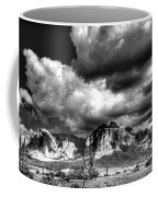 The Supes In Black And White  Coffee Mug