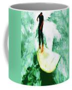 The Surfing Hobbit  Coffee Mug