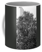The Survivor Tree In Black And White Coffee Mug