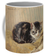 The Tabby Coffee Mug by Henriette Ronner-Knip