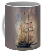 The Tall Ship Peacemaker Coffee Mug by Dale Kincaid