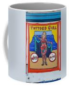 The Tattoed Girl Coffee Mug