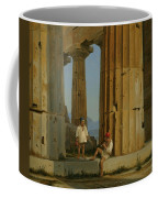 The Temple Of Poseidon. Paestum Coffee Mug