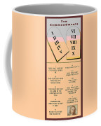 The Ten Commandments Coffee Mug