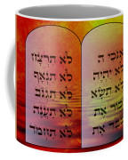 The Ten Commandments - Featured In Comfortable Art Group Coffee Mug