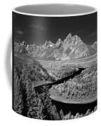 309217-the Teton Range From Snake River Overlook Coffee Mug