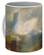 The Thames Above Waterloo Bridge Coffee Mug