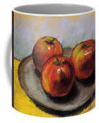 The Three Apples Coffee Mug
