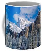 Cathederal Rocks And Bridalveil Coffee Mug
