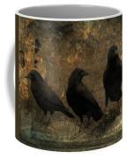 The Three Black Crows Coffee Mug