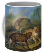 The Three Leopards Coffee Mug