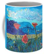 The Three Poppies Coffee Mug