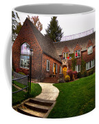 The Tke House On The Wsu Campus Coffee Mug by David Patterson