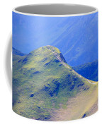 The Top Of Catbells In The Lake District Coffee Mug