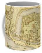 The Tower Of London, From A Survey Made Coffee Mug