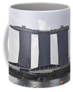 The Towers Of The Iconic Marina Bay Sands In Singapore Coffee Mug