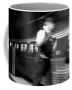 The Train Conductor Coffee Mug by Bob Orsillo