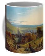 The Travellers Coffee Mug by Christian Ernst Bernhard Morgenstern