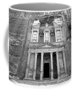 The Treasury At Petra Coffee Mug