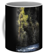 The Tree Across The River Coffee Mug