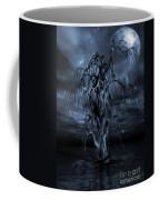 The Tree Of Sawols Cyanotype Coffee Mug