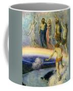 The Trek Of The Gods To Valhalla Coffee Mug