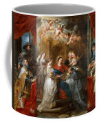 The Triptych Of Saint Ildefonso Altar Coffee Mug