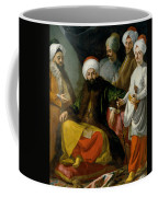 The Turkish Ambassador And His Entourage At The Court Of Naples Coffee Mug