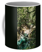 The Turquoise Waters Of The Forest River No2 Coffee Mug