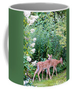 The Twins On The Move Coffee Mug
