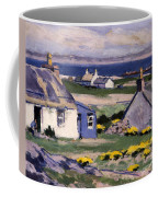 The Two Crofts Coffee Mug by Francis Campbell Boileau Cadell