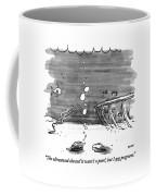 The Ultrasound Showed It Wasn't A Pearl Coffee Mug