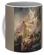 The Undines Or The Voice Of The Torrent Coffee Mug by Ernest Augustin Gendron