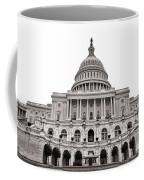 The United States Capitol  Coffee Mug