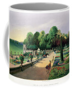 The Upper And Lower Terrace Gardens Coffee Mug
