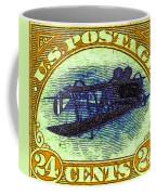 The Upside Down Biplane Stamp - 20130119 - V3 Coffee Mug