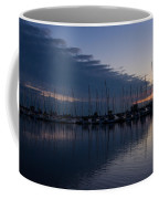 The Urge To Sail Away - Violet Sky Reflecting In Lake Ontario In Toronto Canada Coffee Mug